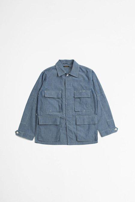 A Vontade BDU Tropical Jacket - Light Blue