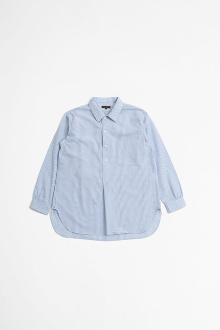 A Vontade Pullover Shirt - Blue Stripe
