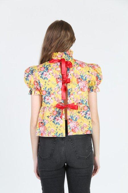 Aurore Van Milhem Marguerite Top - Floral