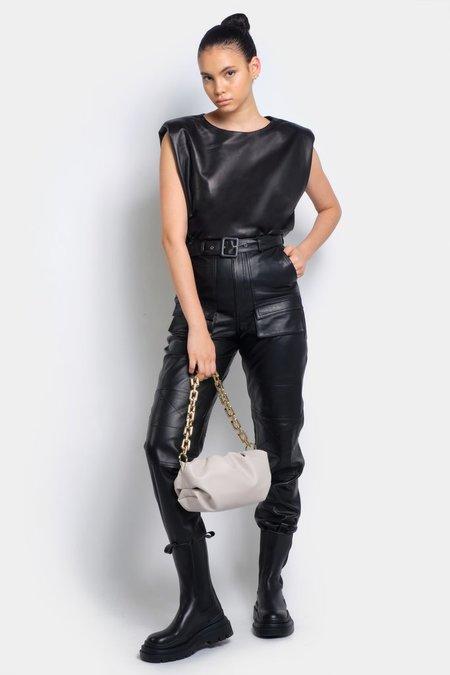 Ducie Naomi Chunky Chain Bag - Stone