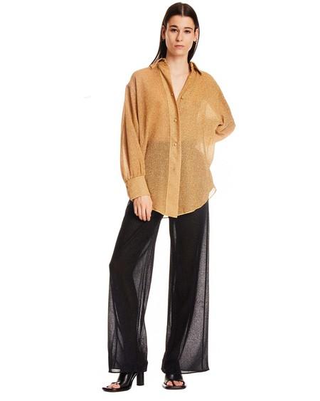Oseree Flared Pants - black