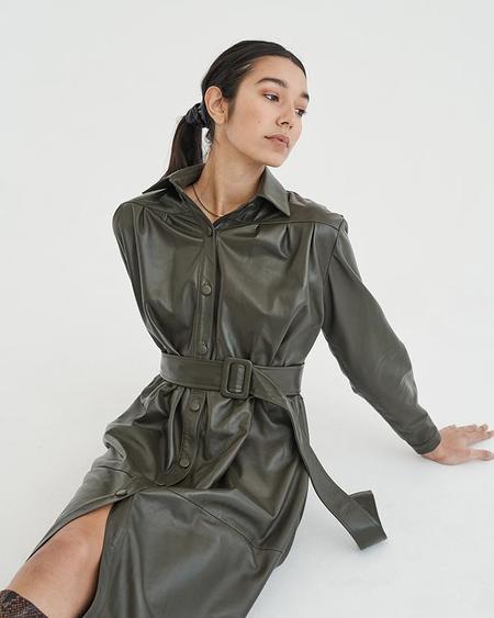 alyson eastman Ronny Dress - Olive