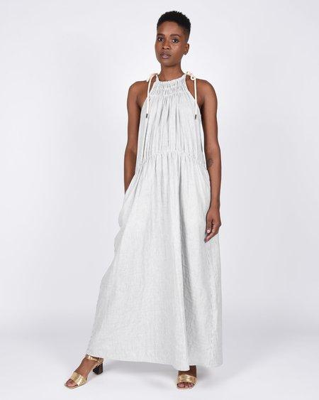 Atelier Delphine Sargent dress - stripe gauze