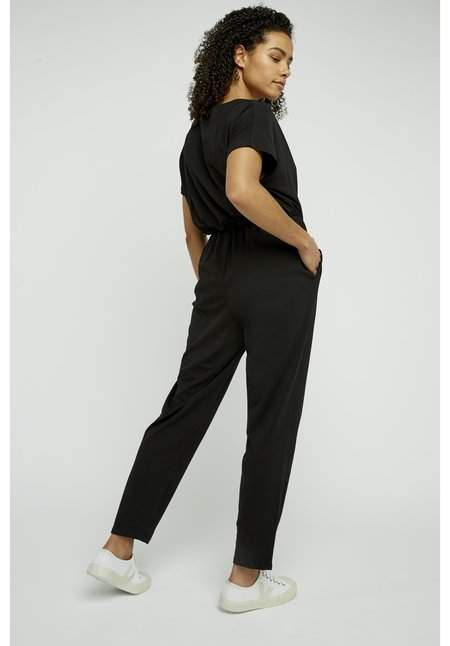 People Tree Oliana Knit Jumpsuit - Black