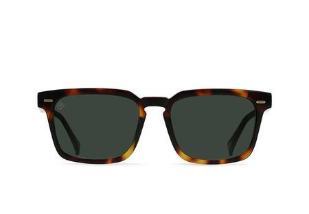 Raen Adin Polarized Sunglasses - Kola Tortoise/Green