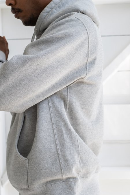 Lady White Co. Classic Fit Hoodie - Heather Grey