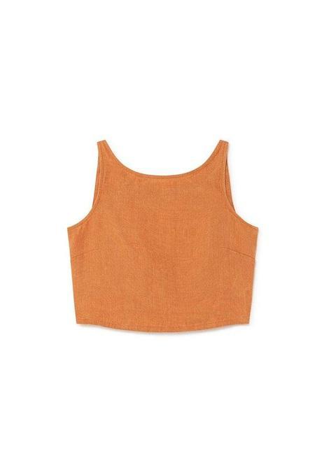 Paloma Wool Linen Tank - Light Caoba