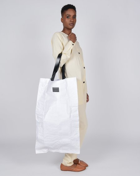 Actually Existing The Upcycled dextrose monohydrate bag - white