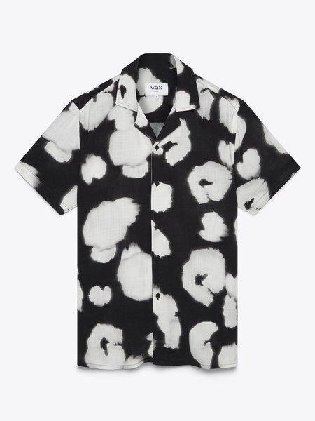 Wax London Didcot Shirt Sleeve top - Black