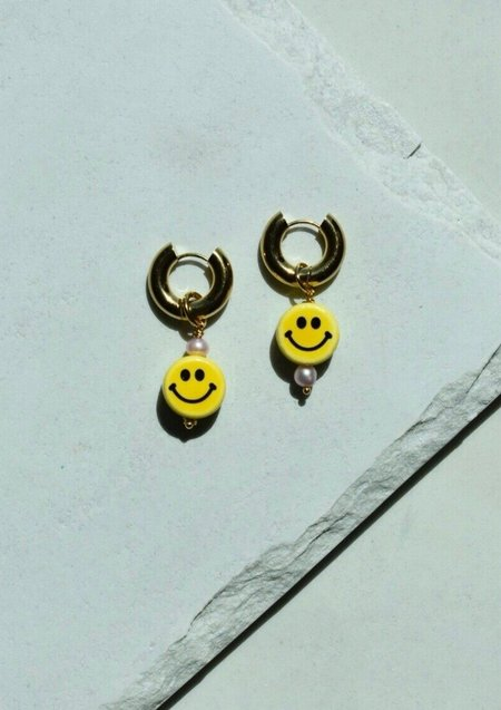 NOTTE Happy Together Earrings - gold plated