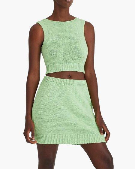 Paloma Wool Kadabra Knit Skirt - Mint