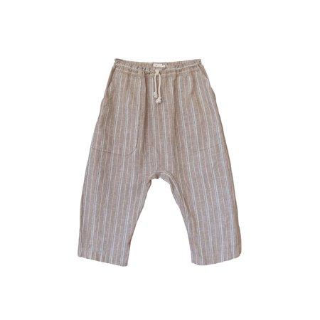 kids nico nico Tatum Harem Pant - Khaki Stripe