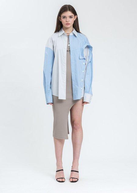 Feng Chen Wang Layered Shirt - White