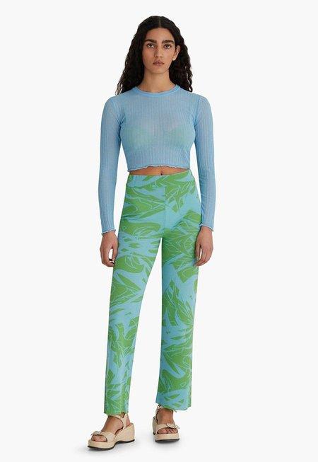 Paloma Wool Neng Knit Top - Light Blue