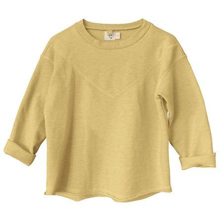 Kids Nico Nico Neve Heathered Sweatshirt - Sunrise Yellow