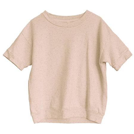 Kids Nico Nico Reid Short Sleeved Sweatshirt - Confetti Love Pink