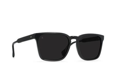 Raen Pierce Sunglasses - Black/Dark Smoke