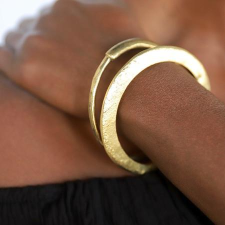 Meyelo Nkiru Bangle - Brass