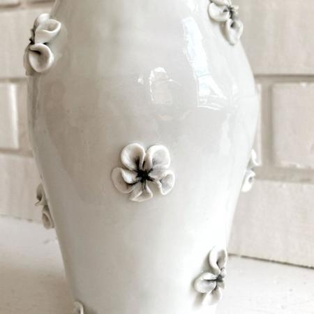 Tanya Zal Flower Vase - Glossy White