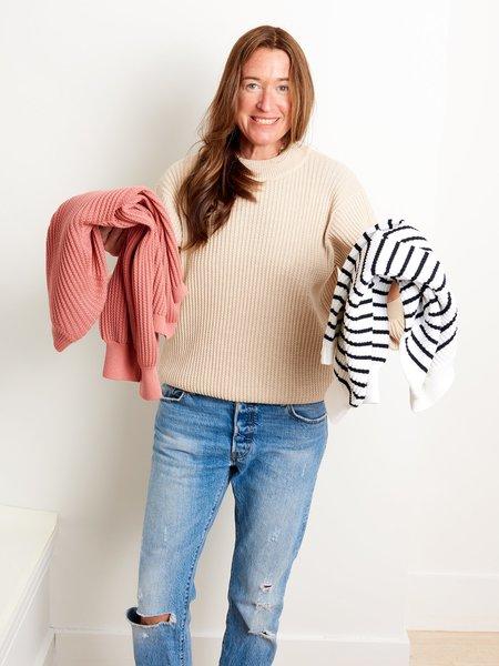 Molli Ondine Crewneck Sweater - Tea