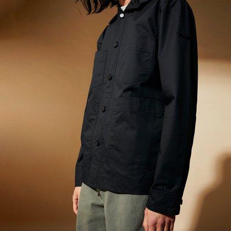 Elvine Pieter 3C Wax Jacket - Darker Navy