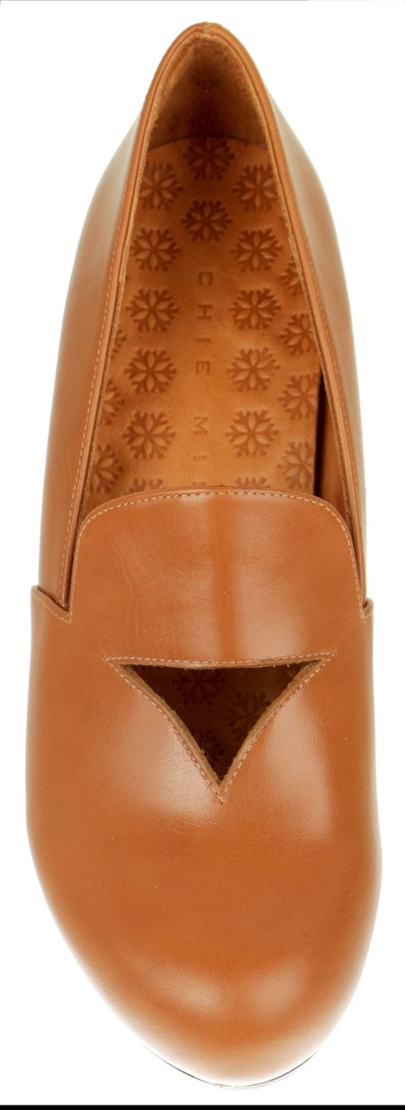 Chie Mihara Troka Shoes - Cognac
