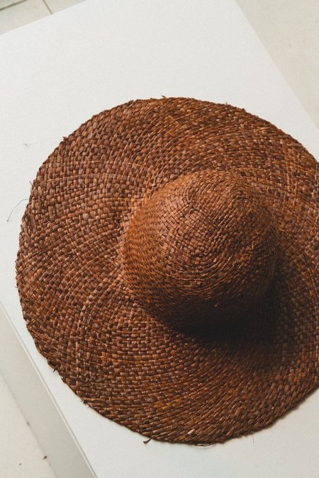Brookes Boswell The Meadow Hat - Dark Brown