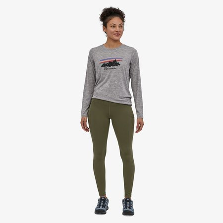 Patagonia Women's Pack Out Tights leggings - Basin Green