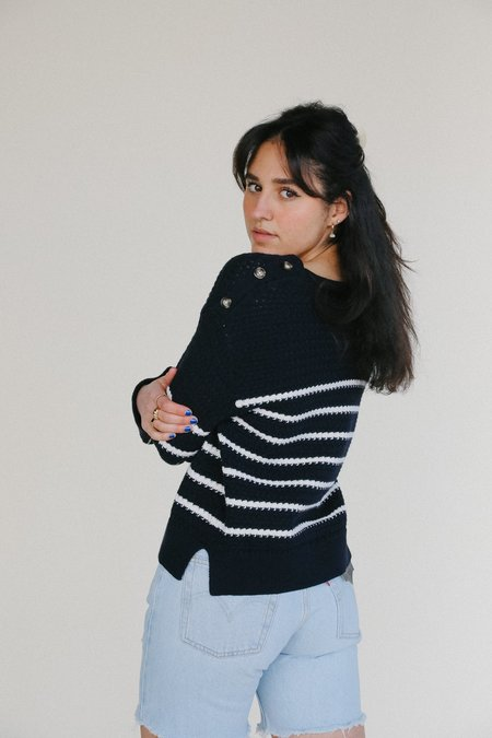 Line the Label Gigi Sweater - Seabird