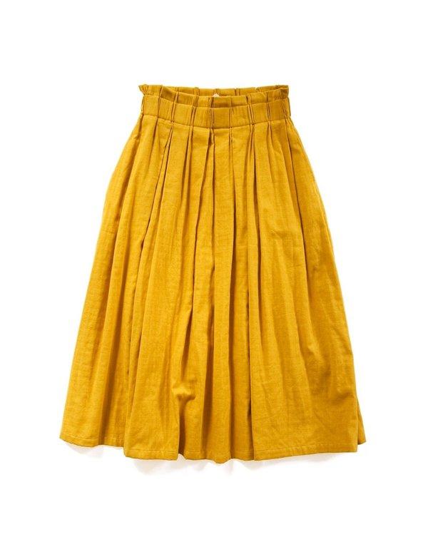 Wrk-shp Draft Skirt Persimmon