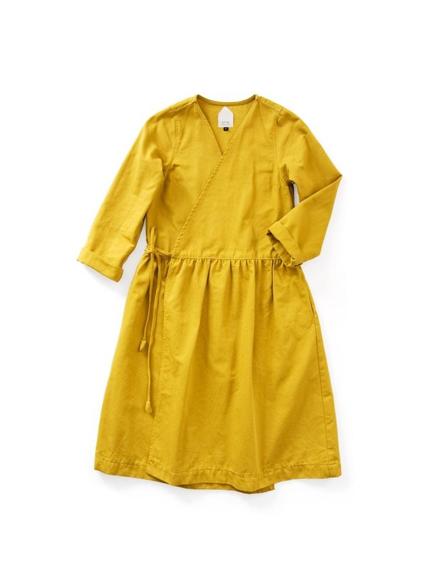 Wrk-shp Wrap Dress Ginger