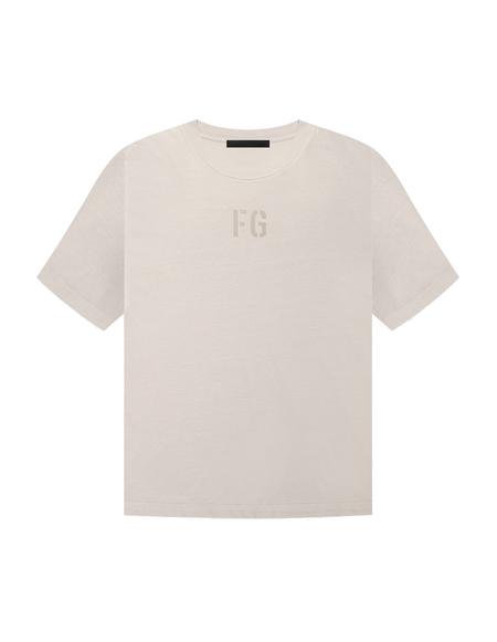 Fear of God Logo T-shirt - Beige