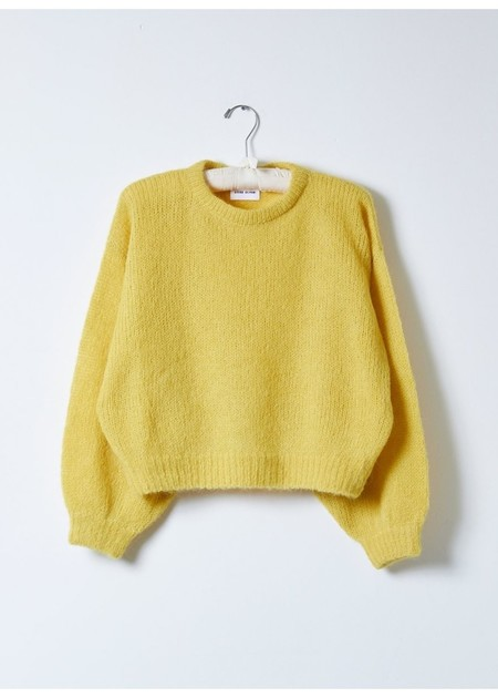 Atelier Delphine Balloon Sleeve Sweater - Dijon