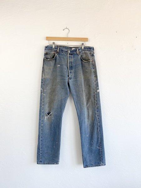 VINTAGE Descendant Distressed Levi 501 Denim Jeans