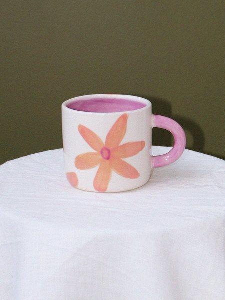 Mosey Me Arcadia X Mosey Handled Mug - Flower