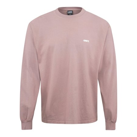 Obey Obey Bold LS T-Shirt - Dusty Pink