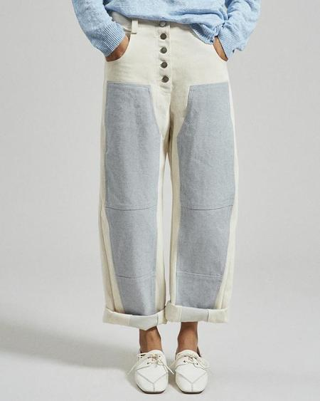 RACHEL COMEY Handy Pant - Natural