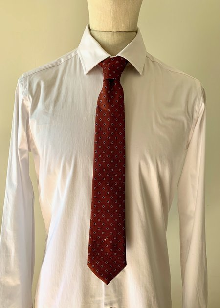 Altea Olona Silk Neck Tie - 5