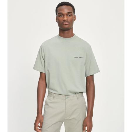 Samsoe Samsoe norsbro 6024 t-shirt - Seagrass