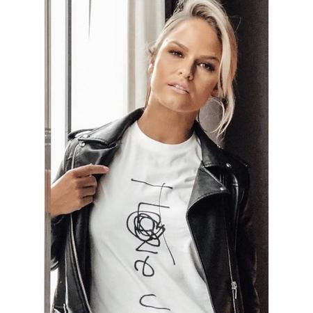 Unisex SkinsLA I Love U T-Shirt - White