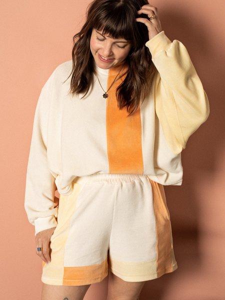 Pastiche Sporty Set - white/orange/yellow