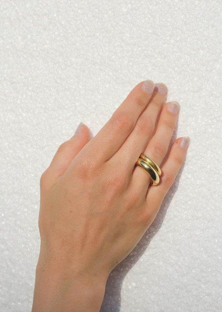 Luiny Circulo No. 1 Ring - Gold