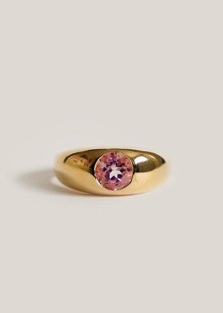 Luiny Topaz Hilma Ring - Pink