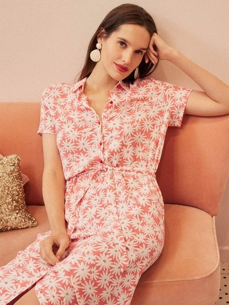 Des Petits Hauts Sanae Shirt Dress - Besito