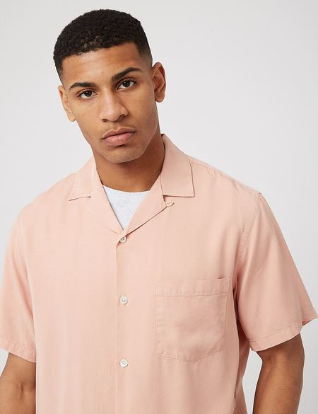 Portuguese Flannel Dogtown Shirt - Rose
