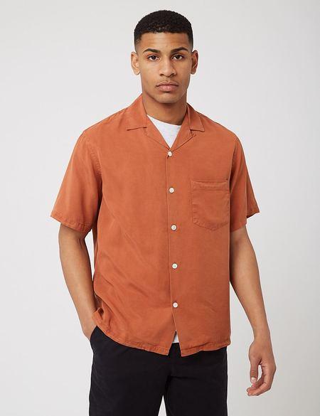 Potuguese Flannel Dogtown Shirt - Terracota