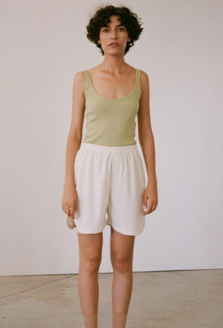 By Signe Lila Top - Willow Green