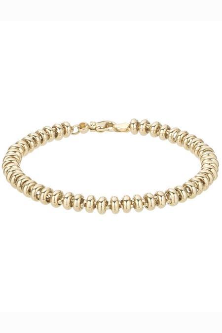 Adina Reyter Ball Chain Bracelet - Yellow Gold