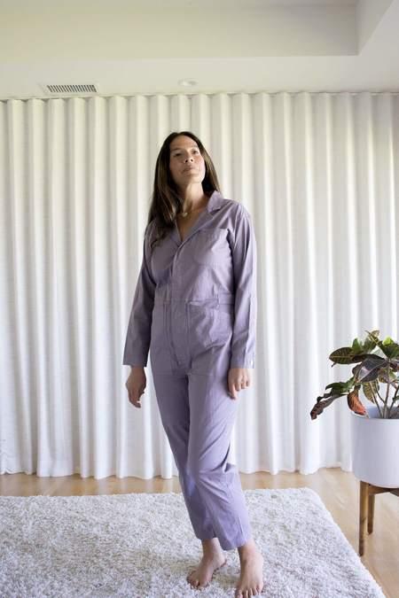 Alex Mill Standard Jumpsuit - Gray Lilac