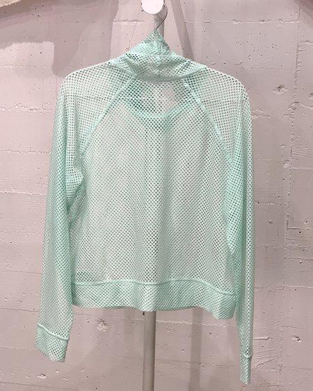 Vintage Mesh Pullover - Sea Glass